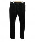 PT TORINO(ピーティートリノ)の古着「SWING ブラックデニムパンツ」|ブラック