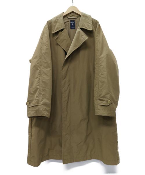 ORCIVAL(オーシバル)ORCIVAL (オーシバル) メモリータフタ インサレーション チェスターコート ブラウンベージュ サイズ:4 RC8020の古着・服飾アイテム