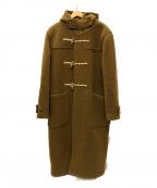 leno(リノ)の古着「ウールカシミヤ ダッフルコート」|キャメル