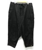()の古着「サルエルカーゴパンツ」|ブラック