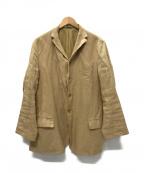 ARTS&SCIENCE(アーツアンドサイエンス)の古着「リネン5Bジャケット」|ベージュ