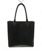 GLENROYAL(グレンロイヤル)の古着「2ハンドルトートバッグ」 ブラック