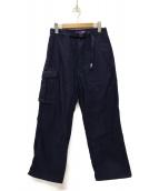 THE NORTHFACE PURPLELABEL(ザノースフェイスパープルレーベル)の古着「Cotton Nylon Field Pants パンツ」 ネイビー