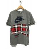 ()の古着「コラボTシャツ」 グレー