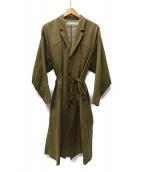 ASEEDONCLOUD(アシードンクラウド)の古着「バルカラーコート」|ブラウン