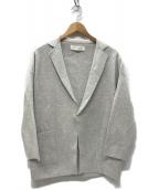 GALERIE VIE(ギャルリーヴィー)の古着「コットンミラノリブ オーバーサイズドジャケット」|グレー