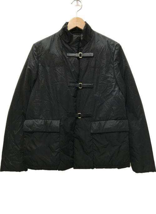 PRADA(プラダ)PRADA (プラダ) ナイロン中綿ジャケット ブラック サイズ:40の古着・服飾アイテム