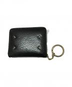 Maison Margiela 11(メゾンマルジェラ 11)の古着「Glam Slam キーリング ウォレット 財布」|ブラック