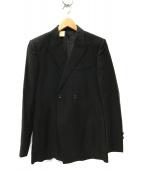 N.HOOLYWOOD(ミスターハリウッド)の古着「ダブル テーラードジャケット」|ブラック