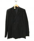 N.HOOLYWOOD()の古着「ダブル テーラードジャケット」|ブラック