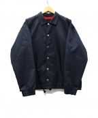 CINOH(チノ)の古着「Recycle Nylon Coach Jacket 」|ネイビー
