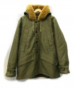 COLIMBO()の古着「MITCHELL AIRCREW PARKA ジャケット」|カーキ