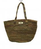 Ron Herman(ロンハーマン)の古着「Sisal Tote Bag カゴ トートバッグ」|ブラウン