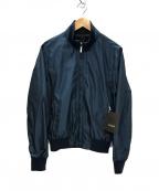 MOORER(ムーレー)の古着「AXTEN-KM リバーシブル スイングトップ ジャケット」 ネイビー