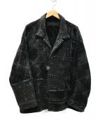 Porter Classic(ポータークラシック)の古着「21SS Kogin Jacket コギンジャケット」|ブラック