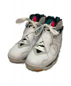 ()の古着「AIR JORDAN 8 RETRO スニーカー」 WHITE/WHITE-TURBO GR