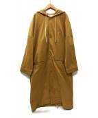 DROLE DE MONSIEUR(ドロール ド ムッシュ)の古着「ロングレインコート」|ベージュ