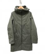 DESCENTE ALLTERRAIN(デザイント オルテライン)の古着「BOA ACTIVE SHELL ALL コート」|グレー
