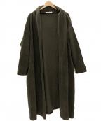 DRESSTERIOR(ドレステリア)の古着「フリースガウンコート」|ブラウン
