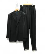 DORMEUIL(ドーメル)の古着「KIBOU311 1タック 2Bセットアップスーツ」 ブラック