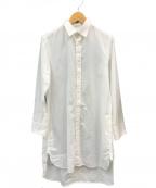 Ys()の古着「コットンシャツワンピース」 ホワイト