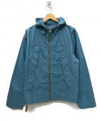 Martin Margiela 10(マルタンマルジェラ 10)の古着「17SS 八の字 ナイロンジップジャケット」|ブルー