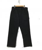 orSlow()の古着「ブラックデニム ペインターパンツ 」 ブラック