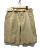 CellarDoor(セラードアー)の古着「ベルテッドショーツ パンツ」|ベージュ