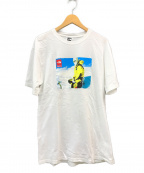SUPREME×THE NORTH FACE()の古着「Expedition Photo Tee Tシャツ」|ホワイト