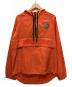 ()の古着「アノラックパーカー」|オレンジ