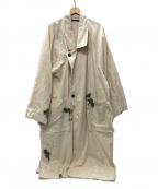 My Beautiful Landlet(マイビューティフルランドレット)の古着「paint denim BIG coat コート」|KINARI