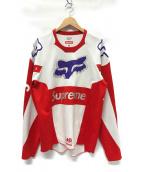()の古着「Fox Racing Moto Jersey Top シャツ」 レッド