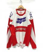 SUPREME(シュプリーム)の古着「Fox Racing Moto Jersey Top シャツ」|レッド