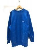 ()の古着「90's ビンテージ リバースウィーブスウェット」 ブルー