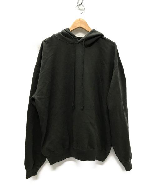 AURALEE(オーラリー)AURALEE (オーラリー) SUPER SOFT SWEAT BIG P/O PARKA インクブラック サイズ:4の古着・服飾アイテム