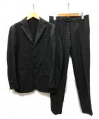 RING JACKET(リングジャケット)の古着「3B セットアップスーツ」 チャコールグレー