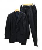 RING JACKET(リングジャケット)の古着「3B セットアップスーツ」 ソリッドネイビー