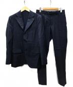 EDIFICE(エディフィス)の古着「ロロピアーナ3Bスーツ」 ネイビー