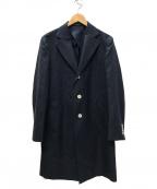 SANYO(サンヨー)の古着「チェスターコート」|ネイビー