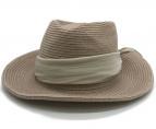 ()の古着「Silk Braid Hat リボンハット」|ベージュ