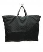 ()の古着「GGナイロン ラージトートバッグ」|ブラック