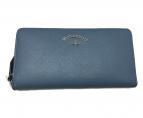 ()の古着「TYWYN ラウンドファスナー 財布」|スカイブルー