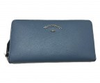 Vivienne Westwood ANGLOMANIA(ヴィヴィアンウエストウッド アングロマニア)の古着「TYWYN ラウンドファスナー 財布」|スカイブルー