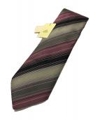 HERMES(エルメス)の古着「ネクタイ」|パープル×グレー