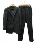 BEAMS F(ビームスエフ)の古着「Sartoria Parma 3Bセットアップ スーツ」|チャコールグレー