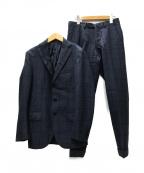 DEPETRILLO(デペトリロ)の古着「3B セットアップスーツ」|ネイビー