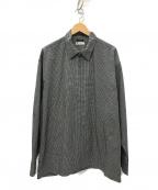 leno(リノ)の古着「ZIP-UP BLOUSON ジャケット」|ホワイト×ブラック