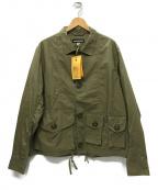 MONITALY(モニタリー)の古着「Military Service Jacket Type-A」|カーキ