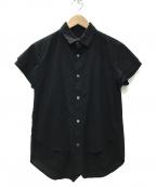 Y'S YOHJI YAMAMOTO(ワイズ ヨウジヤマモト)の古着「シャツ」 ブラック