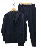 RING JACKET(リングジャケット)の古着「ロロピアーナ 3Bセットアップスーツ」 ネイビー